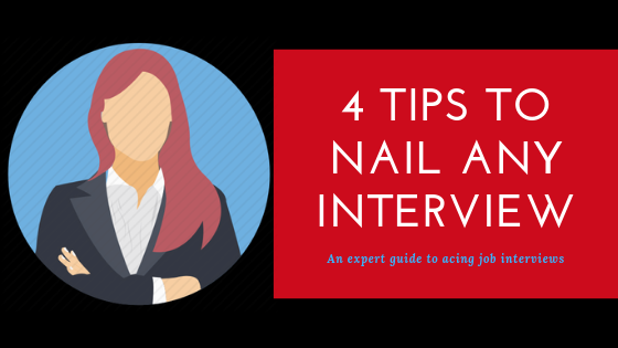 How to nail a job interview